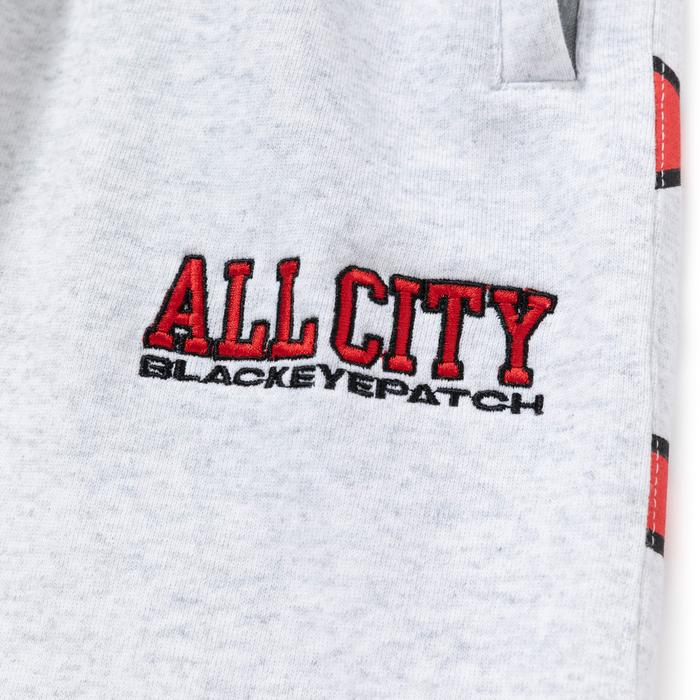 ALL CITY SWEAT PANTS(ASH) -BLACK EYE PATCH