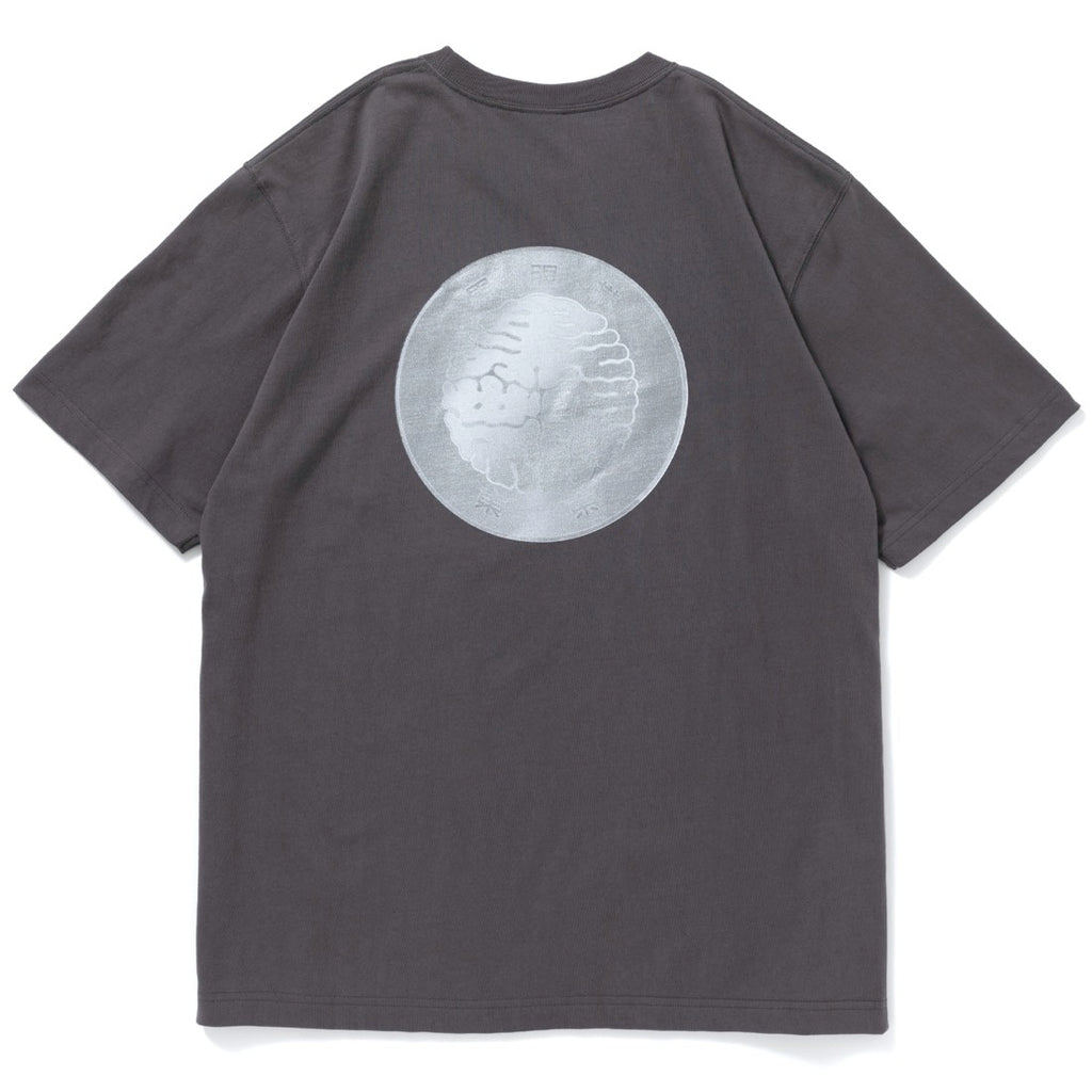 HUNDRED YEN TEE(CHARCOAL) -BLACK EYE PATCH
