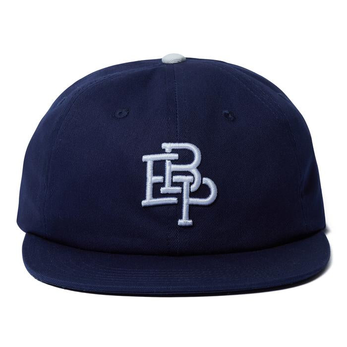 6 PANEL BASEBALL CAP(NAVY) -BLACK EYE PATCH