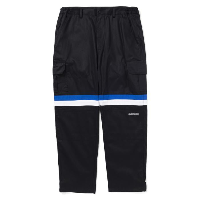 MOTORSPORT CARGO PANTS(BLK/BLU) -BLACK EYE PATCH