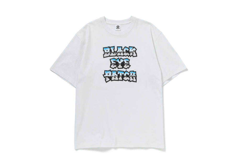 HOMEBOYZ TEE(WHITE) -BLACK EYE PATCH