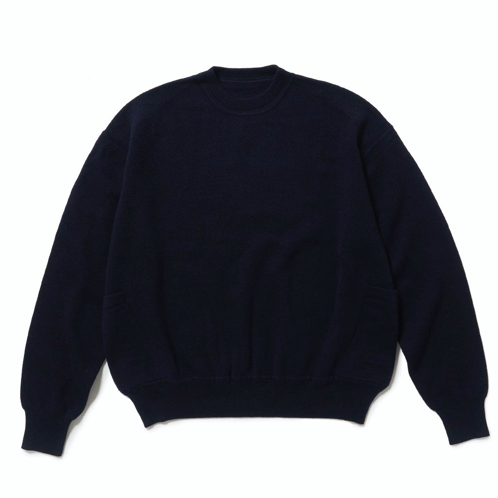 HIKERS KNIT(DARK NAVY) -ETHOS