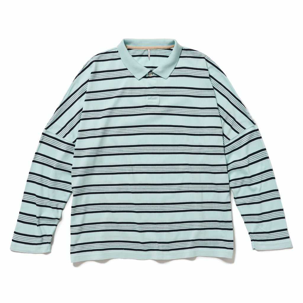 BORDER LONG POLO(MUSCAT) -ETHOS