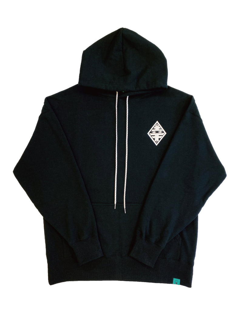 ESOW HOODIE(BLACK) -PIECE OF FLAGS