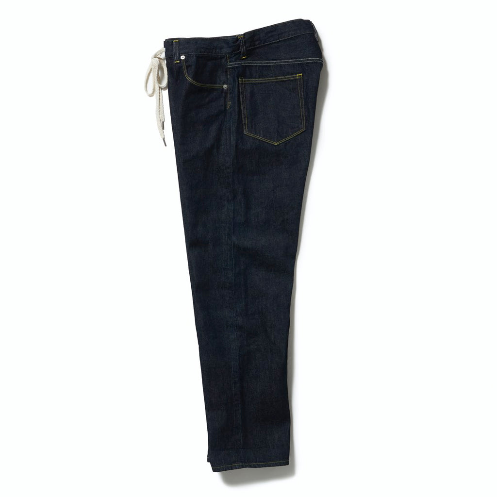 5P DENIM PANTS(INDIGO BLUE) -ETHOS
