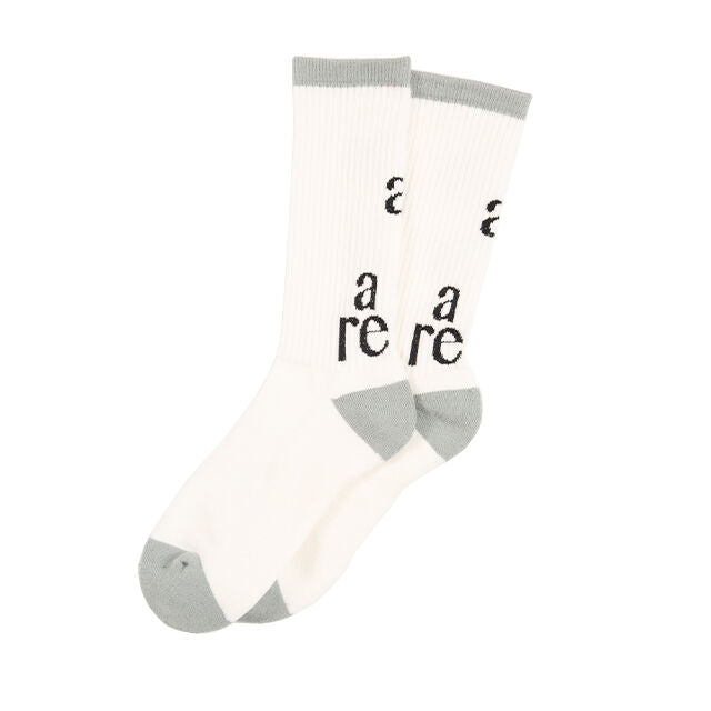 Basic Socks(WHITE) -POVAL