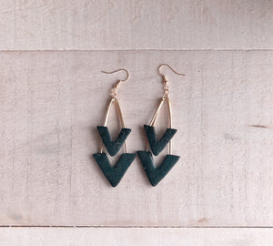 Double Angle Earrings