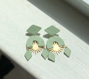 Asterisk Earrings