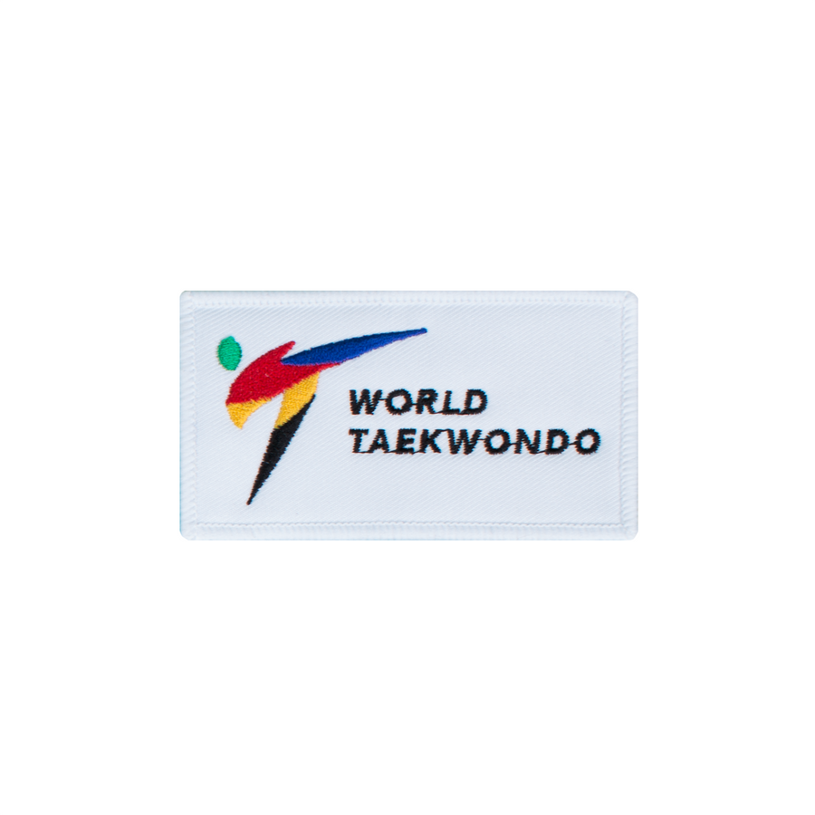 World Taekwondo Logo Patch