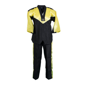BMA Black/Yellow V-Neck Uniform
