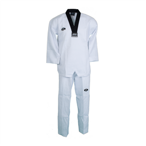 BMA Dri-Fit Fabric White Uniform (WV, BV)
