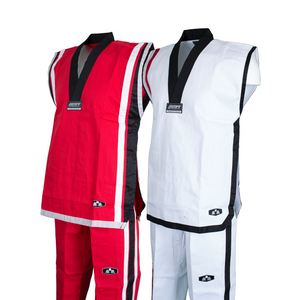 BMA Sleeveless Uniform (Red, White)