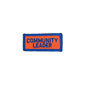 Community Leader Small Patch
