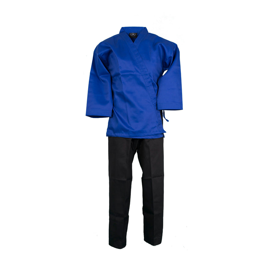 BMA Twill Fabric Open Color Uniform W/ Black Pants