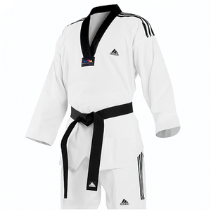Adidas Grand Master White Uniform (3 Stripes)