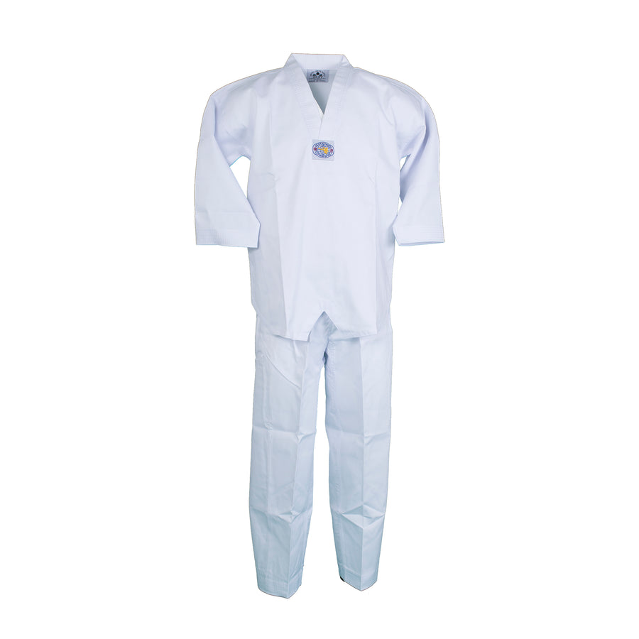 BMA Ribbed Fabric V-Neck Uniform