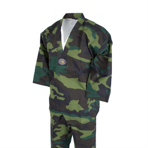 BMA Camouflage V-Neck Uniform