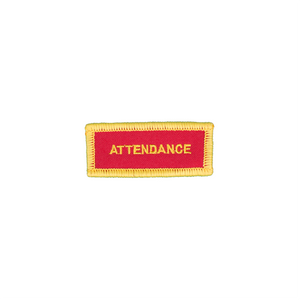 Attendance Small Patch