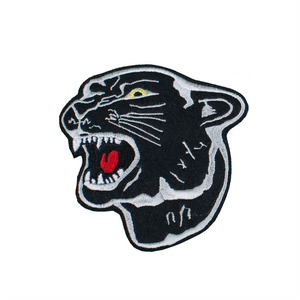 Black Panther Head Patch