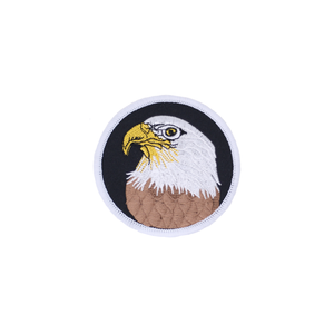 American Eagle Head Round Patch