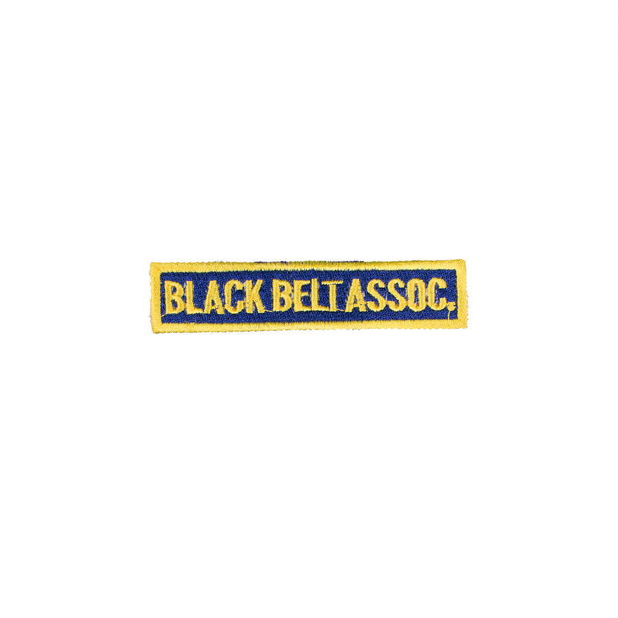 Black Belt Association Patch