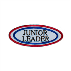 Junior Leader Patch (Oval White)