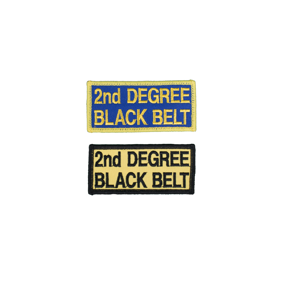 2nd Degree Black Belt Patch