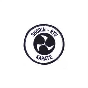 Shorin-Ryu Karate Round Patch