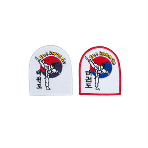 Taekwondo With Kicker Patch