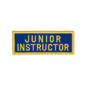Junior Instructor Patch (Royal Blue)