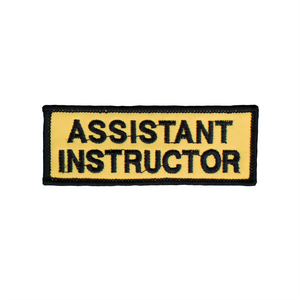 Assistant Instructor Patch (Yellow)