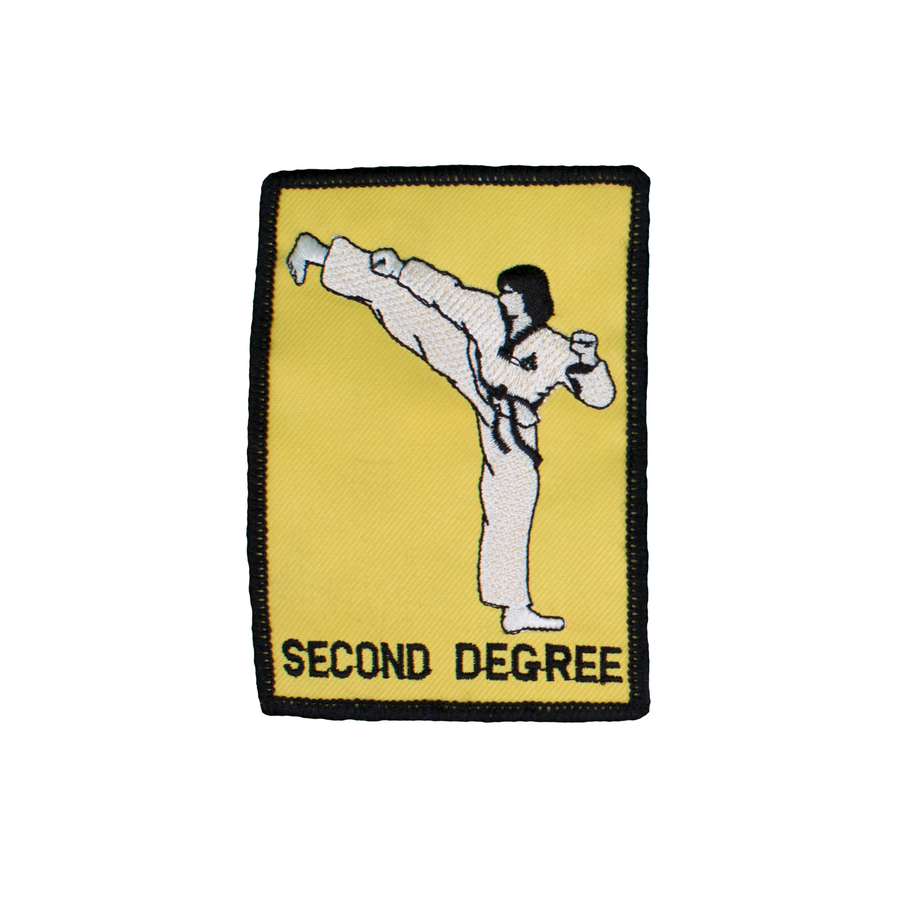 2nd Degree Patch With Kicker