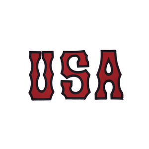 USA Letter Patch (Red)