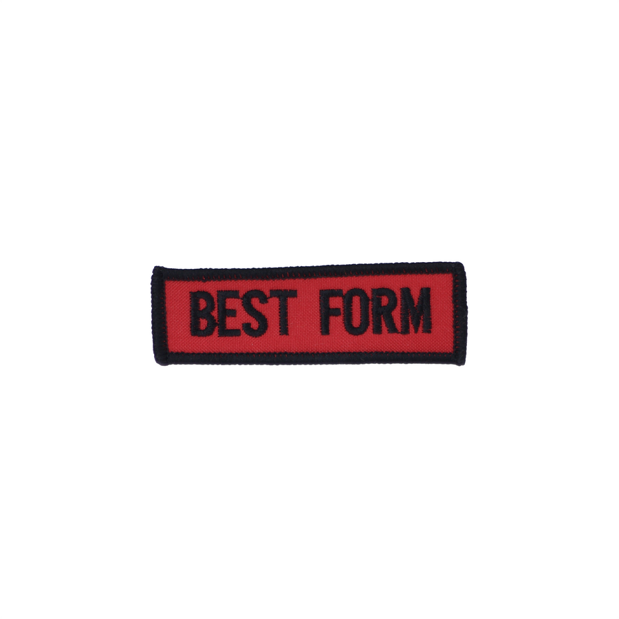 Best Form Patch Red