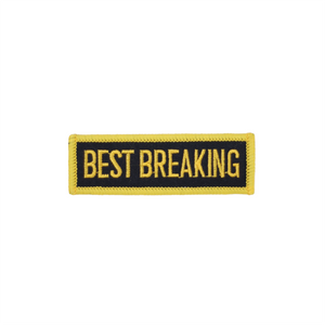 Best Breaking Patch Black