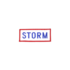 Storm Patch White