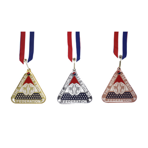Deluxe Triangle Medal