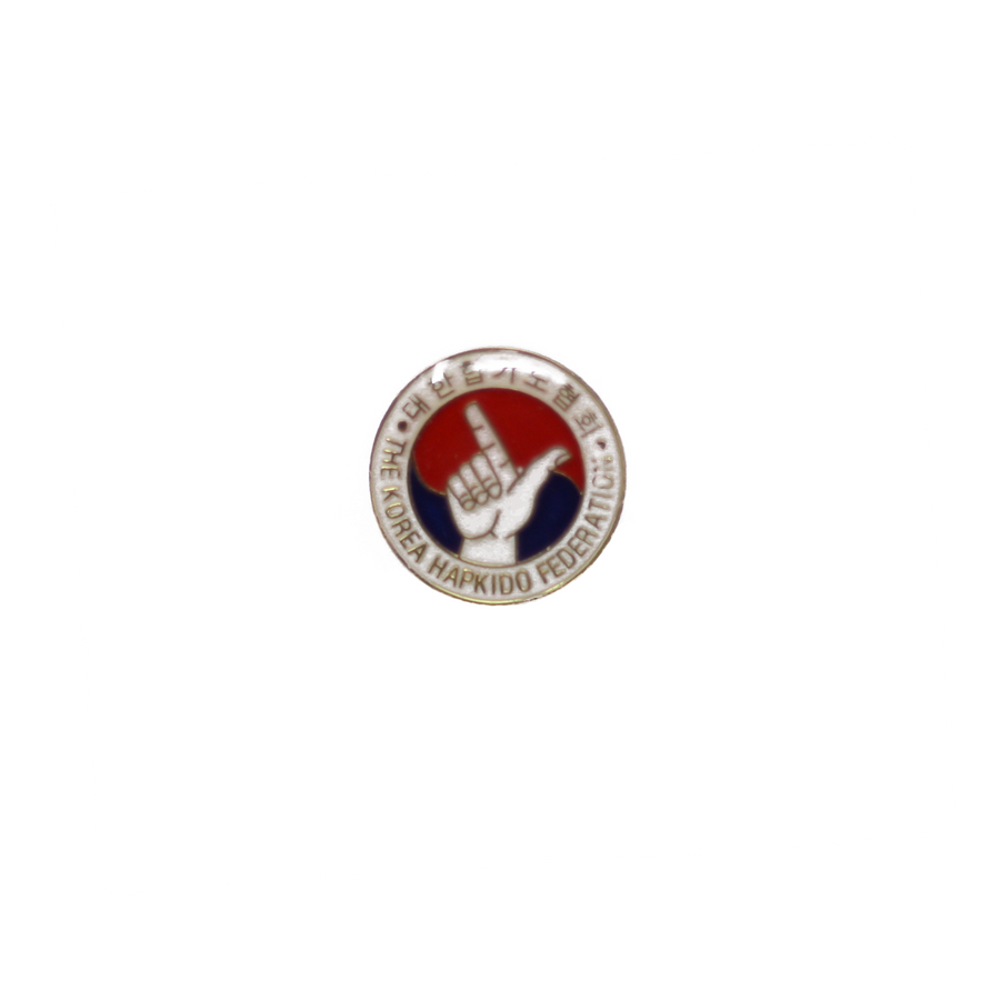 Korea Hapkido Federation Pin