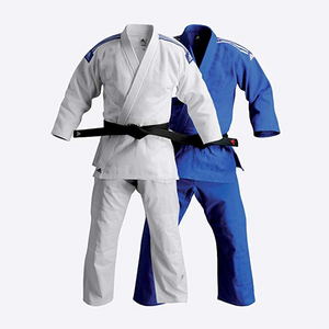 "Adidas ""Training"" Judo Gi (White, Blue)"