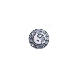 Bruce Lee Pin (Silver)