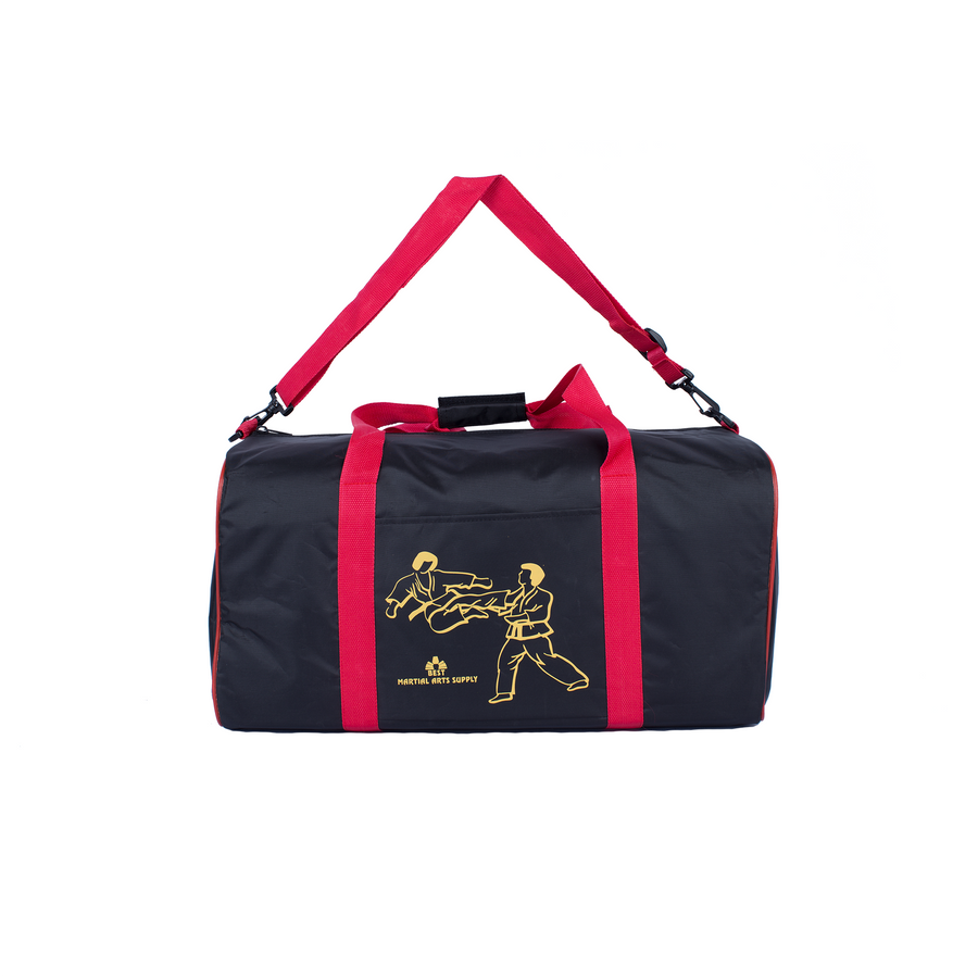 BMA Martial Arts Bag With Red Trim