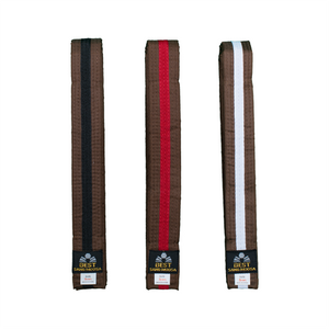 BMA Brown Belt With Stripe