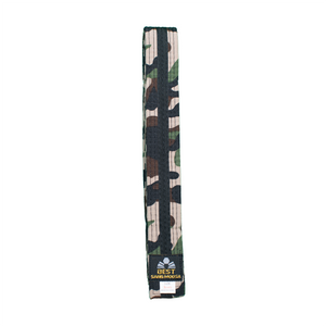BMA Camouflage Belt With Black Stripe
