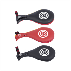 BMA Doublt Target Mitt Leather (Black/Red, Black, Red)