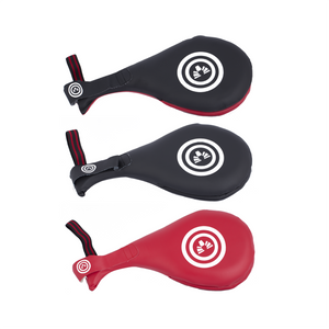 BMA Double Target Mitt Vinyl (Black/Red, Black, Red)