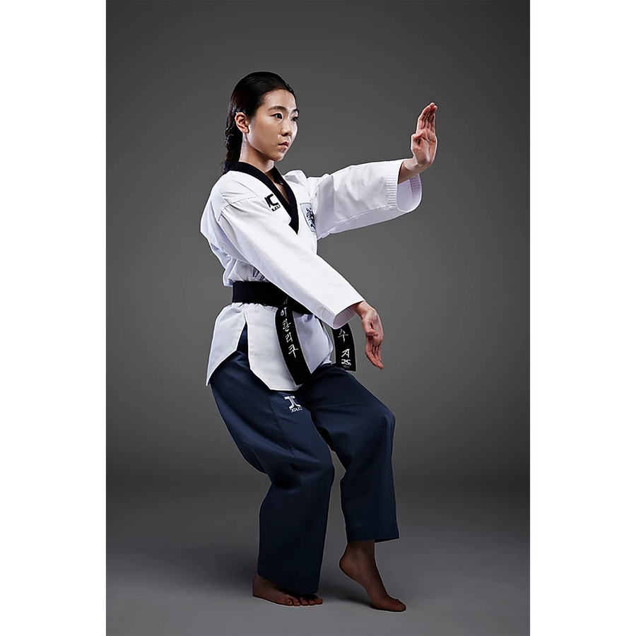 JCalicu Dan Female Poomsae Uniform (PRO)