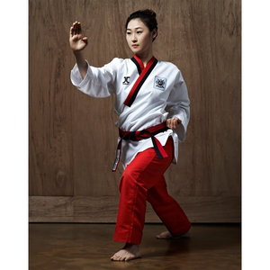JCalicu Poom Female Poomsae Uniform (Ribbed Fabric)