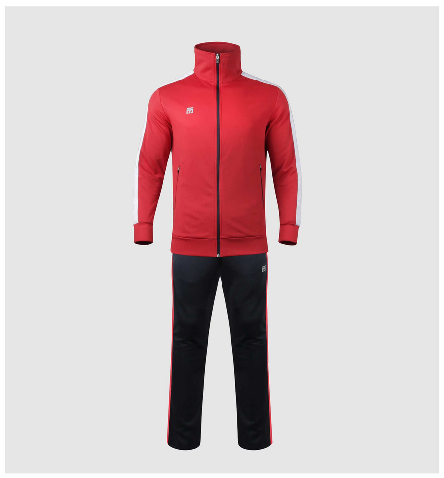 MOOTO Evan Training Suit (Red/Navy)