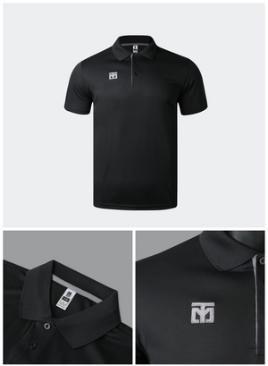 MOOTO Dri-Fit Polo Shirt (Black)