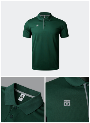 MOOTO Dri-Fit Polo Shirt (Dark Green)
